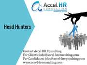 Head Hunters,  Top Recruitment Company in India & Dubai
